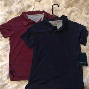 Set of 2 NWT Cherokee Polos -School Uniform Shirts